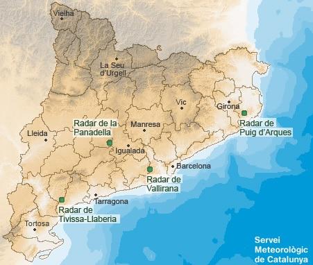 xarxa de radars catalunya